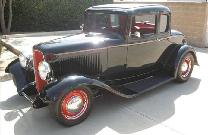 Vehicle Profile: 1932 Ford 5-Window Coupe