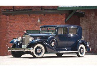 Vehicle Profile: 1933 Packard Twelve Series
