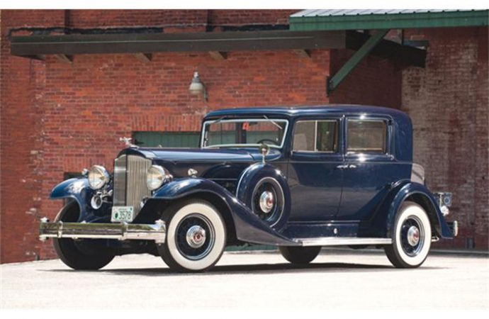 Vehicle Profile: 1933 Packard Twelve Series