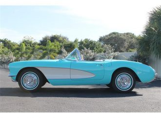 Vehicle Profile: 1957 Chevrolet Corvette