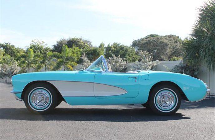 Vehicle Profile: 1957 Chevrolet Corvette
