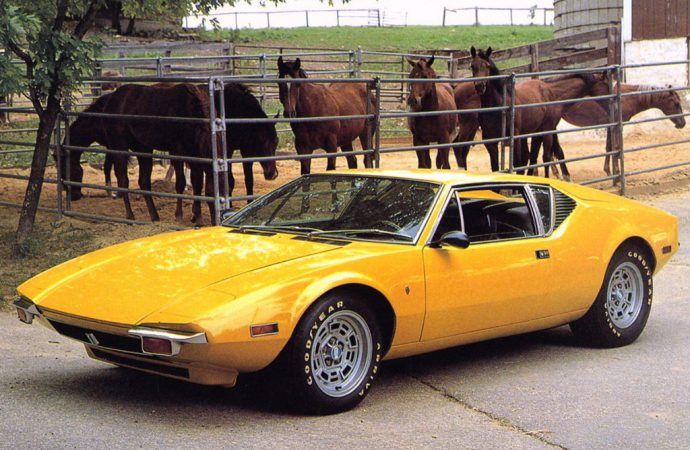 Vehicle Profile: De Tomaso Pantera
