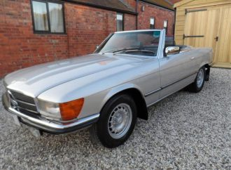 Vehicle Profile: Mercedes-Benz 350SL