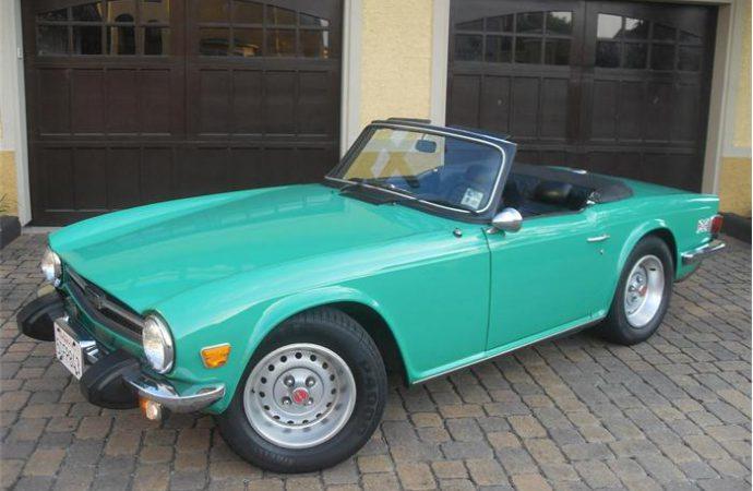 Vehicle Profile: 1969-1976 Triumph TR6