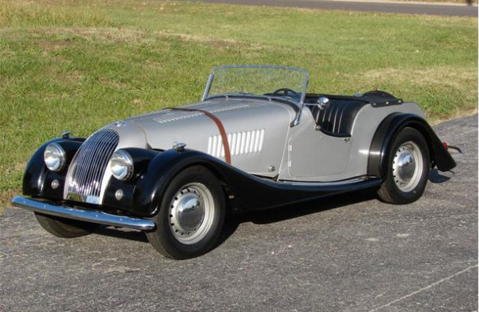 Vehicle Profile: 1956 Morgan Plus 4