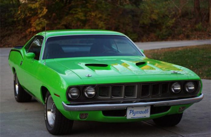 Vehicle Profile: Plymouth Barracuda
