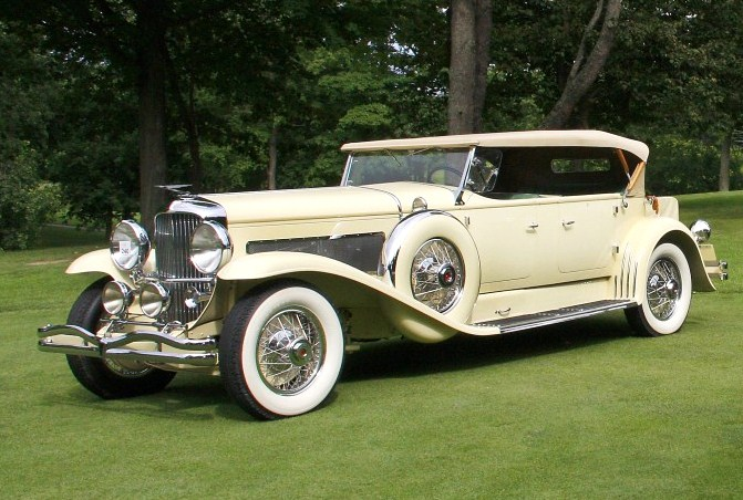 This 1931 Duesenberg Model J Tourster Derham won Best of Show - Domestic at the 2013 Concours d'Elegance of America. (Photo: Concours d'Elegance of America)
