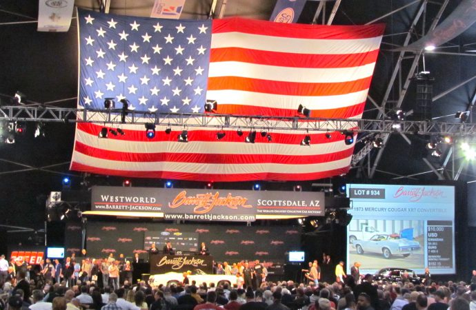 Fox adds broadcast to cable coverage of Barrett-Jackson's 2014 Scottsdale auction