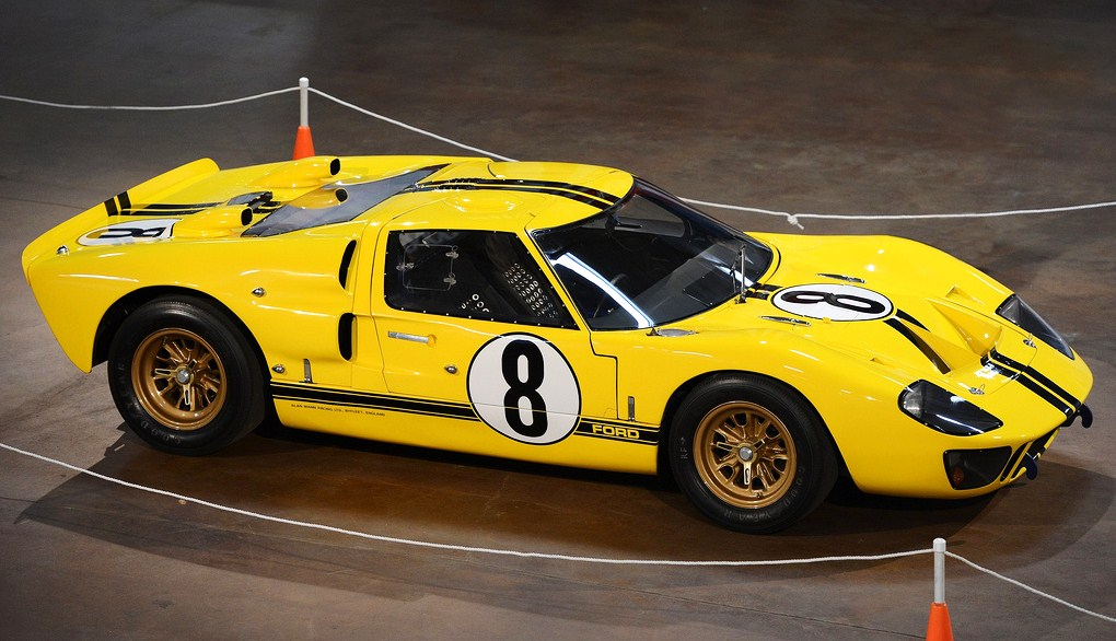 This 1966 Ford GT40 was on display at the Simeone Museum's recent People's Choice Demo Day. (Photo: Simeone Foundation Automotive Museum)