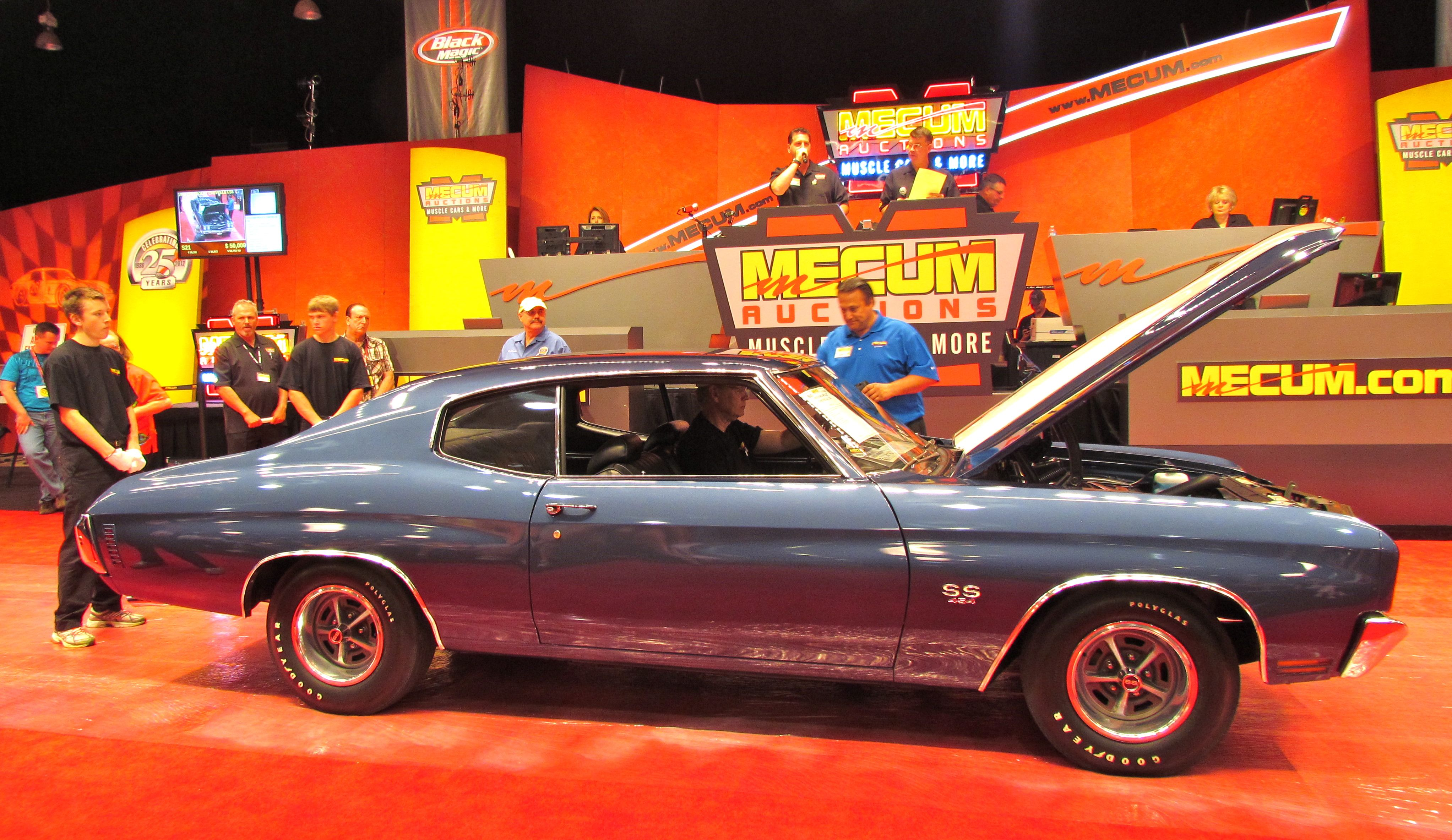 Mecum, NBC team on auction coverage for three years - ClassicCars ...