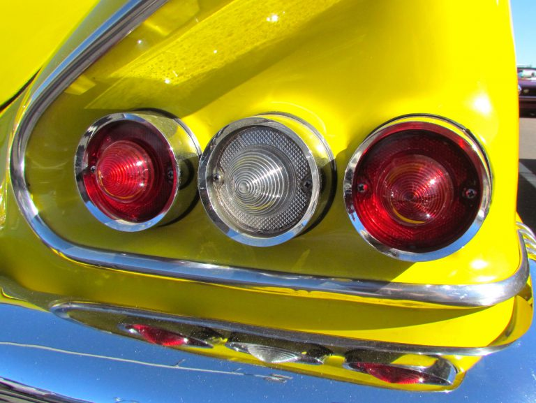 Eye Candy A Gallery Of Tail Lights From The 1950s And