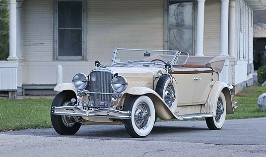 The 1930 Duesenberg Model J convertible could fetch $2 million. (Photo: Mecum Auctions)