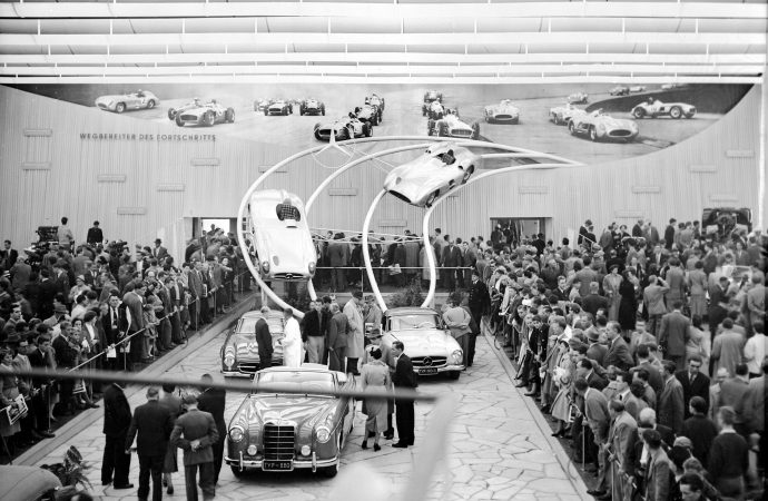 Mercedes underscores 'value retention' of sports cars it introduced 60 years ago
