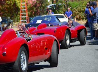 Vroooom! Historic racers don't have to keep quiet at the Simeone museum