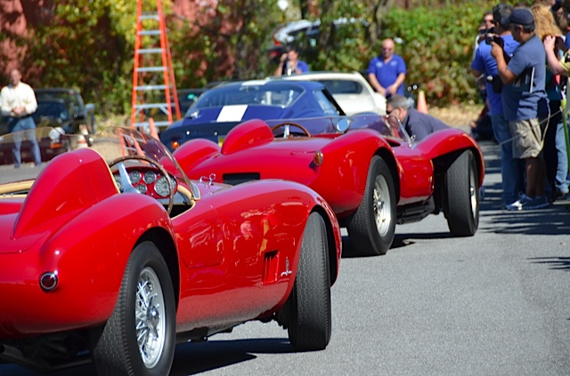 Each month, the Simeone exercises its historic racing cars | Photos by Larry Nutson