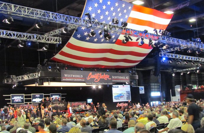 Barrett-Jackson enjoys $51.9-million in Saturday sales