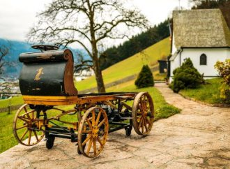 Ferdinand Porsche's first car, built in 1898, ready for museum unveiling