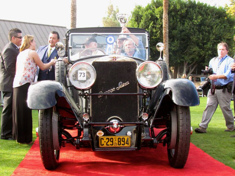 From alley cat to best in show: Nichols' Hispano-Suiza wins at inaugural Arizona concours