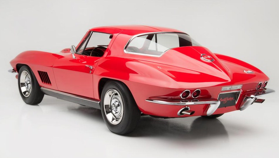 A rare 1967 Corvette L88 coupe at Barrett-Jackson hit $3.85 million, the top American-car sale during Arizona Auction Week. (Photo: Barrett-Jackson)