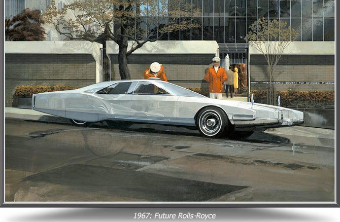 'Visual futurist' Syd Mead's vehicles to be subject of show in South Carolina