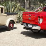 09_Restored_Bandt_ute with 2014 Ranger. With permission Bandt family
