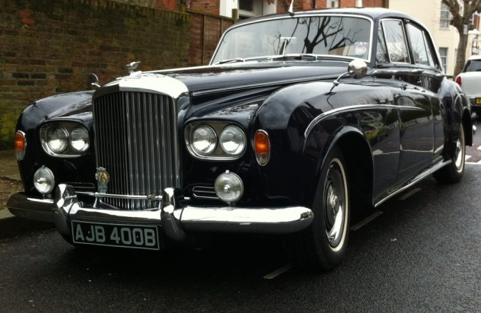 Mr. 25%'s 'Beatles' Bentley up for auction at Coys sale