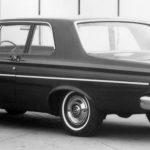 1965 Ply Belvedere I 2 dr sedan rear lft