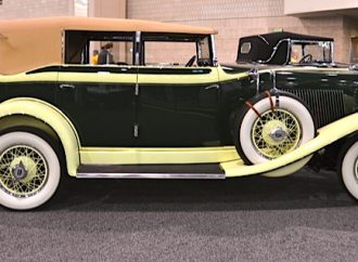 Is Philly unique in including classics at its annual new-car auto show?