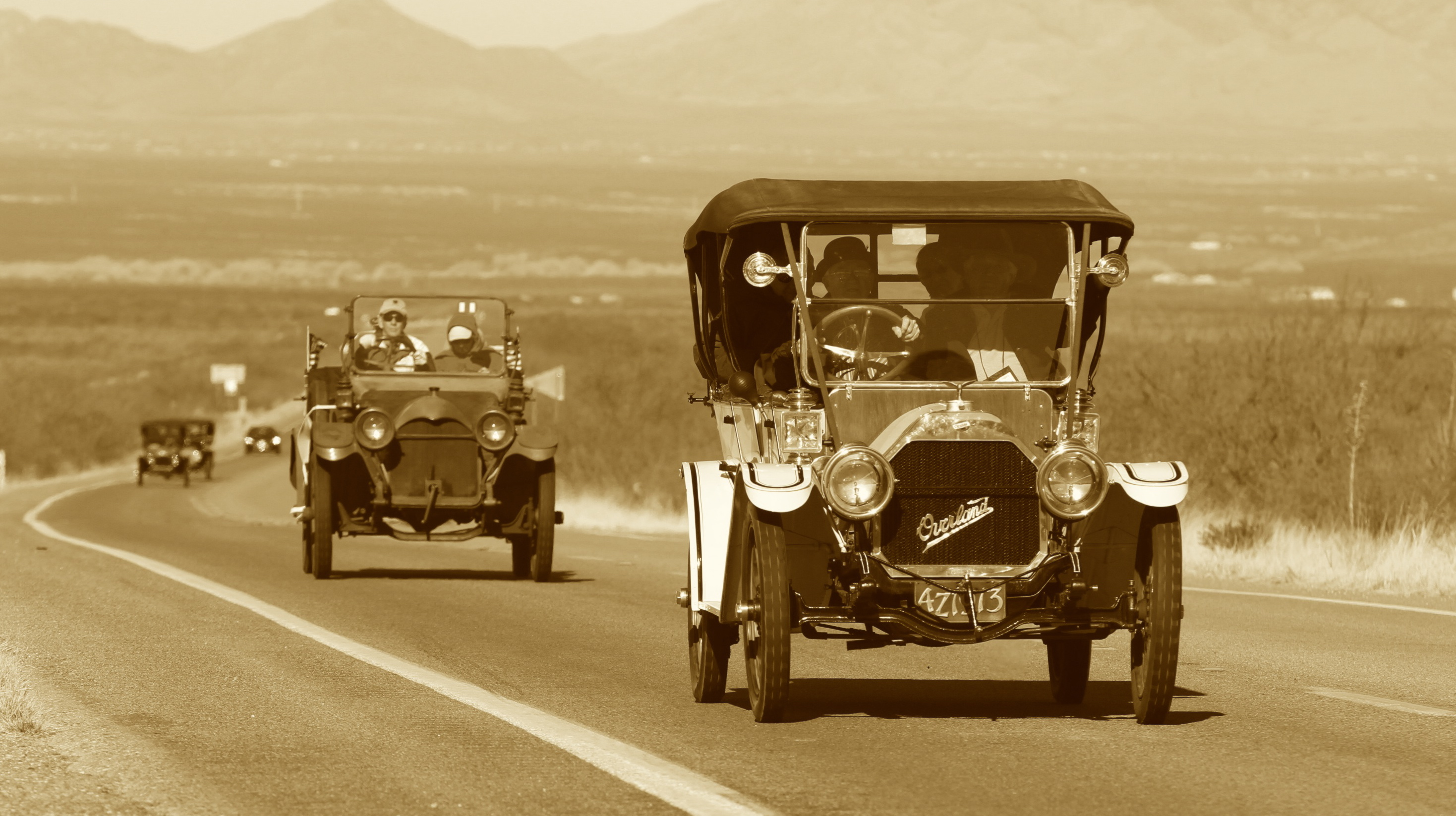 Horseless carriage club celebrates the class of brass for Car carriage