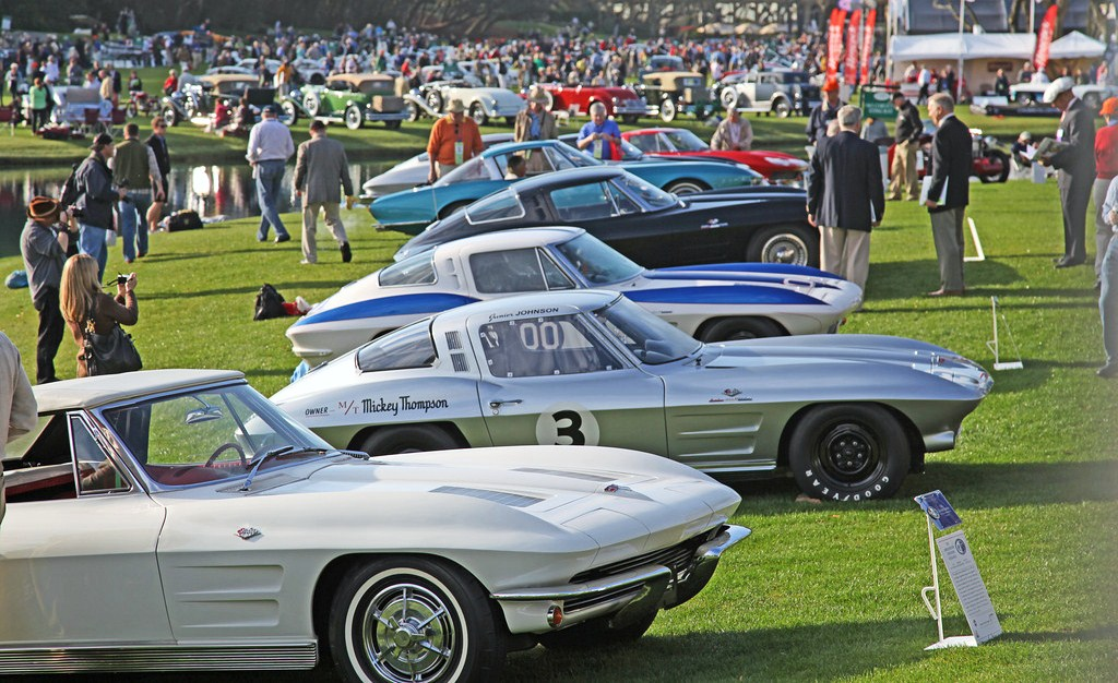 special Corvette display at last year's Amelia Island Concours d'Elegance. (Photo: Neil Rashba/Rashba.com)