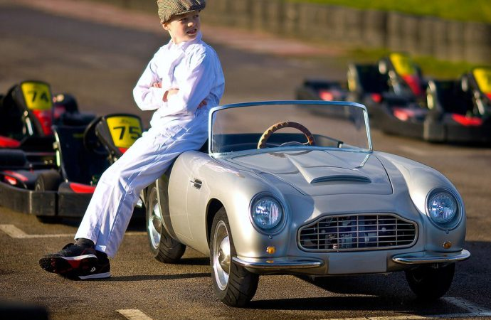 Tiny, pricey roadster built as classic Aston Martin