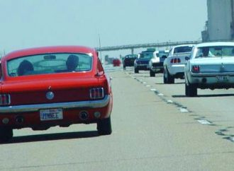 Cross-country drives celebrate Mustang's 50th