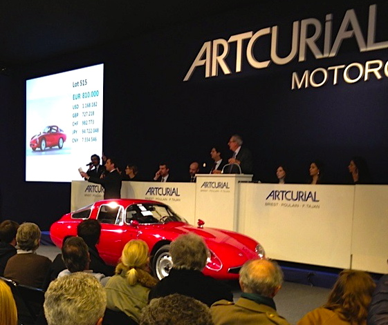 '65 Alfa TZ brings $1.289 million at Solo Alfa sale
