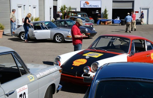 Porsche shops, such as AutoKennel in Costa Mesa, will host open houses. (Photo: AutoKennel)