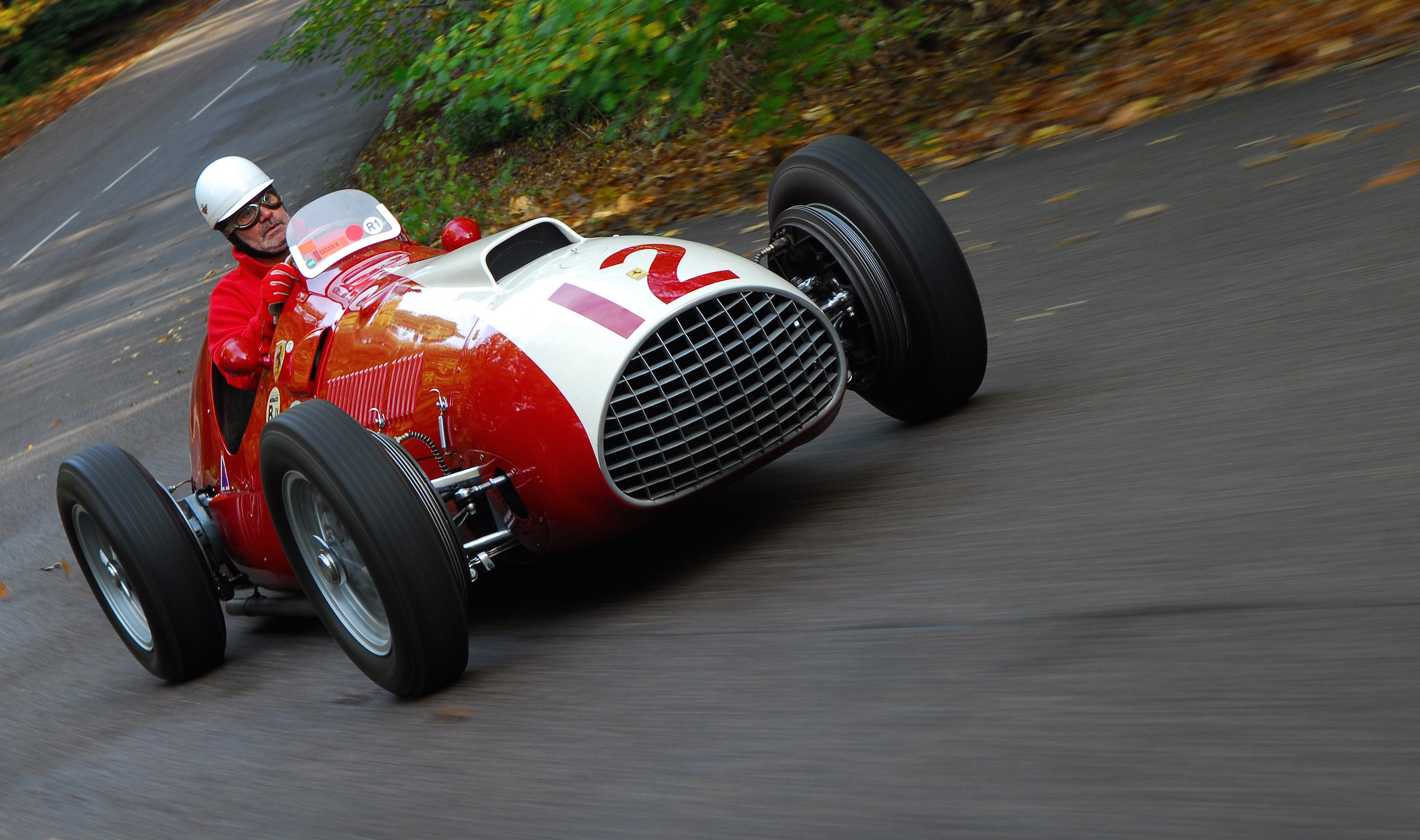 Italian Cars Show And Go At Uk S Brooklands Circuits Classiccars