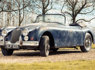 Barn-found Jaguars going to 'Restoration' auction