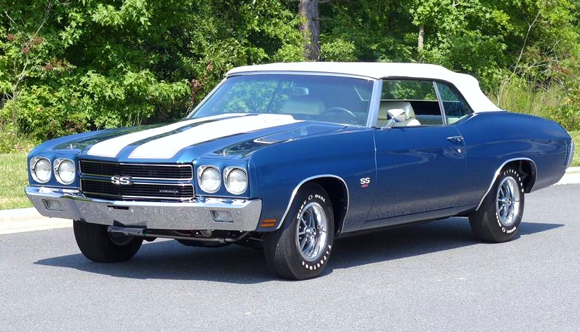 A rare and valuable 1970 Chevelle SS LS6 convertible | Barrett-Jackson
