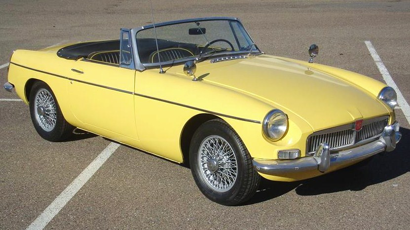 A pristine MGB roadster from 1967arguably the best year | Barrett-Jackson