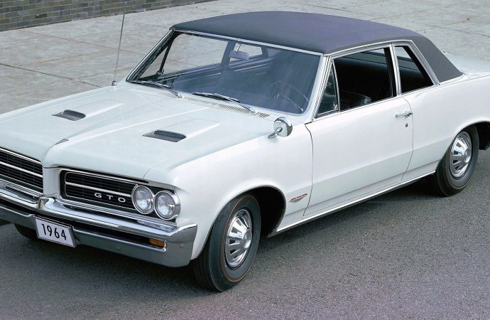 Pontiac GTO celebrates 50 years since undercover birth