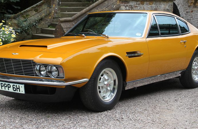 The Persuaders! Aston Martin headed for auction