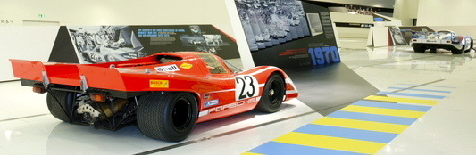 No. 23 917L was Porsche's first overall Le Mans winner in 1970