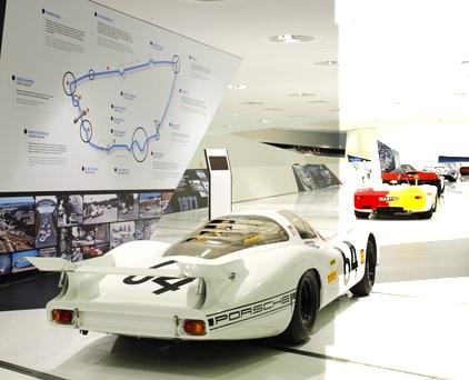 Porsche Museum features Le Mans racing history