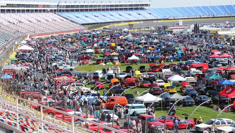Autofair gears up for another gigantic event classiccars for Events at charlotte motor speedway