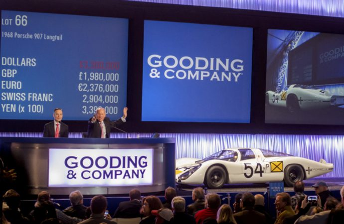 Porsches set pace as Gooding's Amelia Island posts $30.9 million in sales