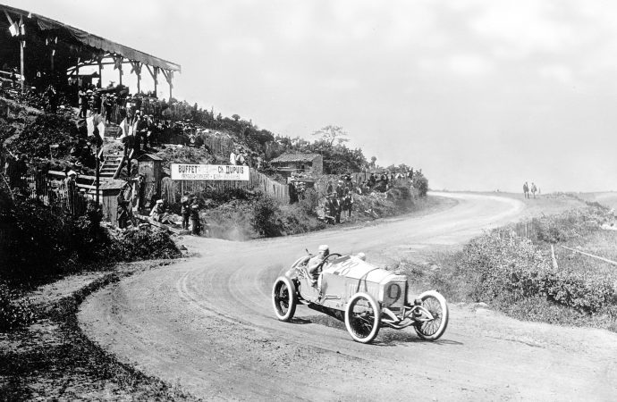 Mercedes-Benz celebrates centennial of first 1-2-3 Grand Prix finish