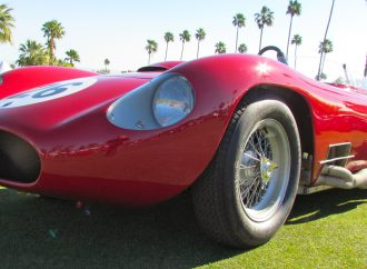 Maserati racer, one-off Bianchi convertible take top honors at inaugural Desert Concorso