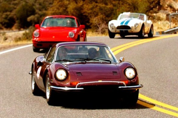 Sports cars on tour during a past Copperstate 1000 road rally | Copperstate 1000