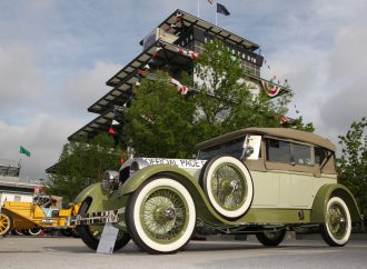 Indy Speedway celebrates classic cars