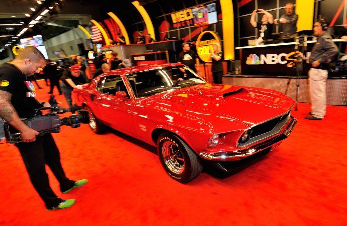 '69 Boss 429 Mustang tops Mecum's KC auction