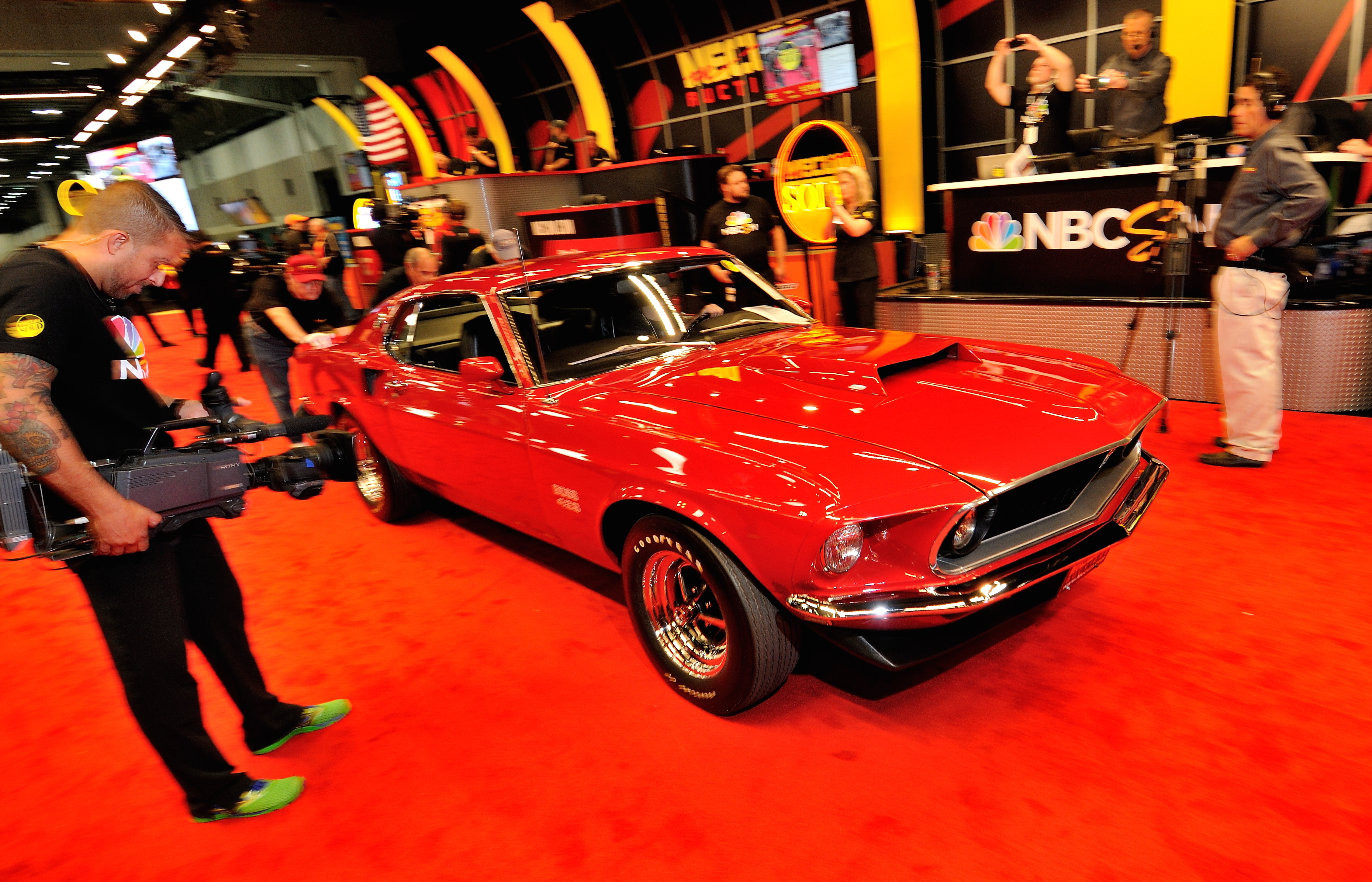 69 Boss 429 Mustang tops Mecum\'s KC auction - ClassicCars.com Journal